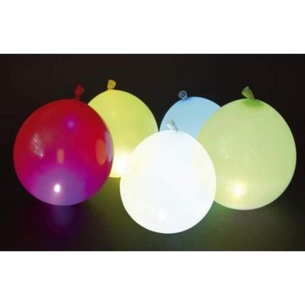 Classic Line - LED Latexballons, 5 Stk.