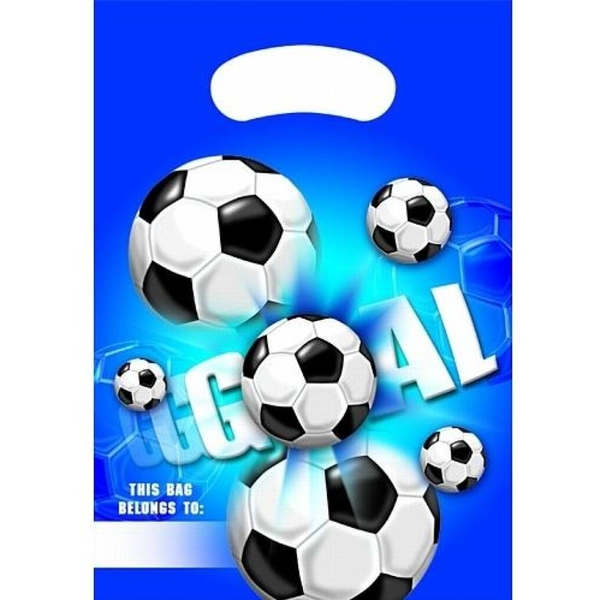 Procos - Goal - Fußball Partytüten, 6 Stück