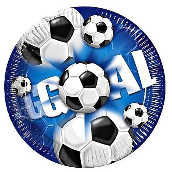 Procos - Goal Fußball Teller, 10 Stück