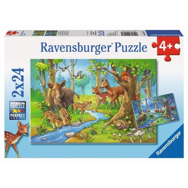 Puzzles & Geduldspiele Peppa in der Schule Puzzle 2 x 24 Teile Spiel Deutsch 2018