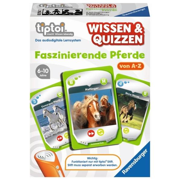 Ravensburger - tiptoi Spiel: Wissen & Quizzen - Faszinierende Pferde