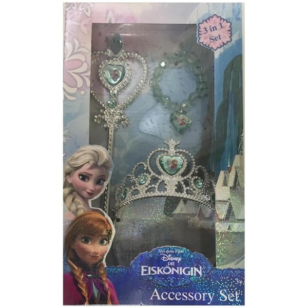 Disney Die Eiskönigin - Krone mit Stab und Kette