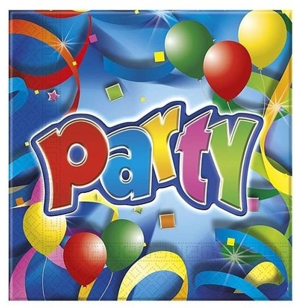 Procos - Party Streamers, 20 Servietten