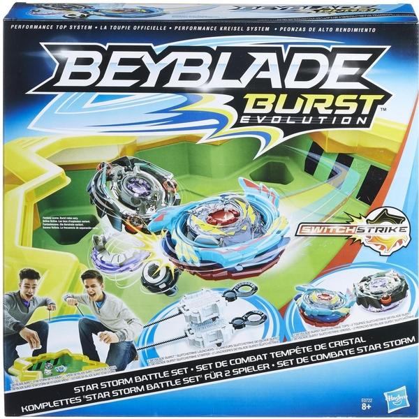 Beyblade - Burst: Komplettes Star Storm Battle Set (E0722)