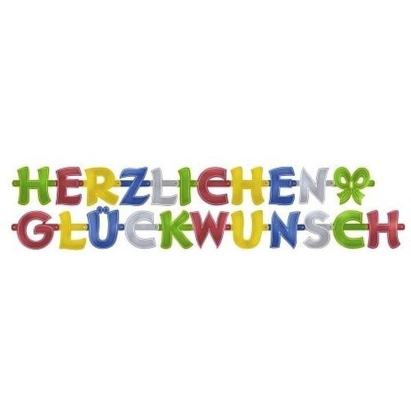 Riethmüller - Partykette Herzlichen Glückwunsch