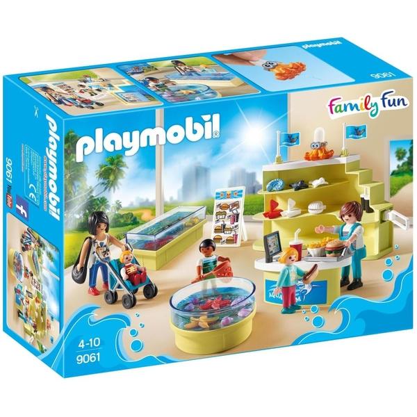 PLAYMOBIL - 9061 Aquarium-Shop