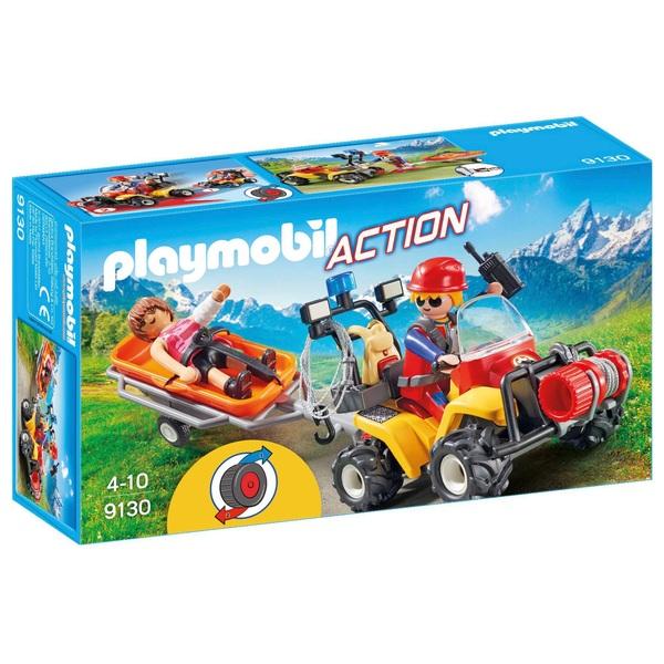 PLAYMOBIL - 9130 Bergretter-Quad