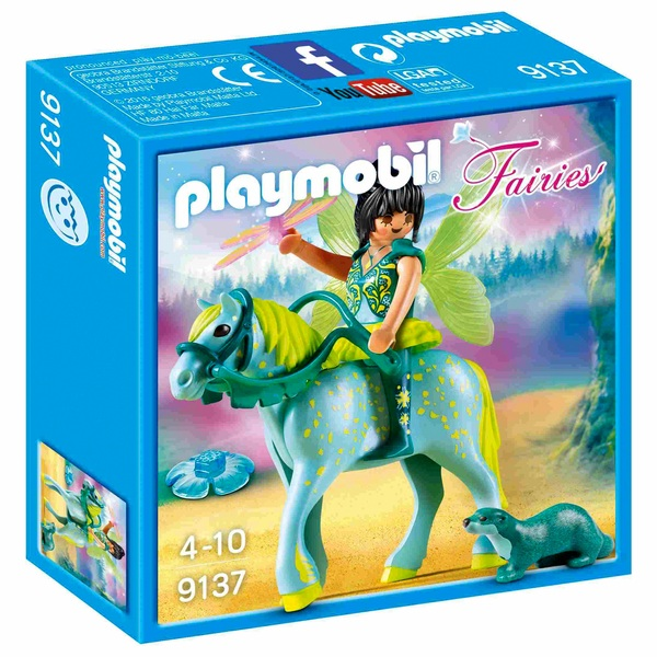 PLAYMOBIL - 9137 Wasserfee mit Pferd Aquarius