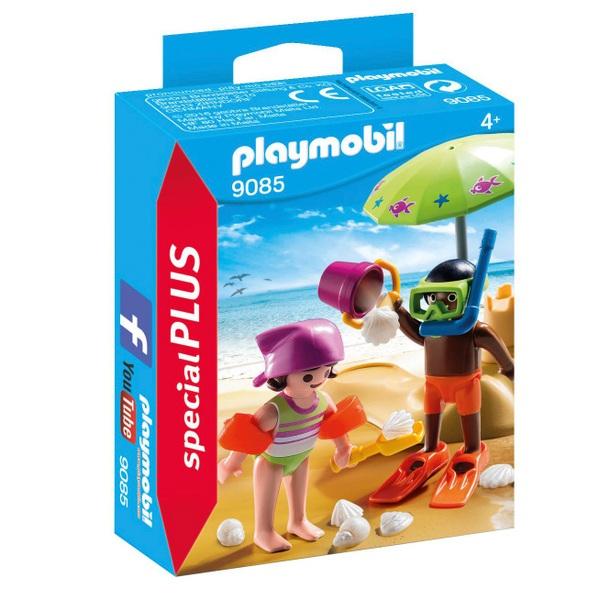 PLAYMOBIL - 9085 Kids mit Sandburg