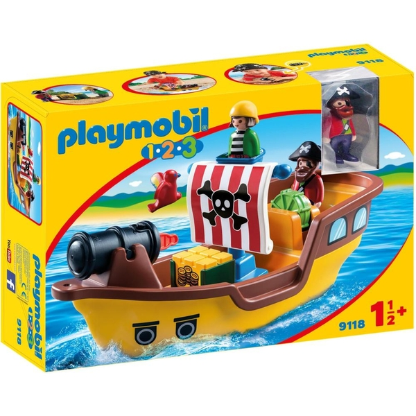 PLAYMOBIL - 9118 Piratenschiff