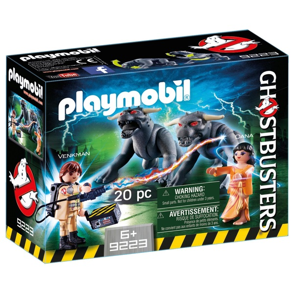 PLAYMOBIL - 9223 Venkman und Terror Dogs