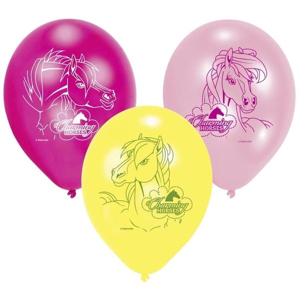 Riethmüller - Latexballons, Pferde, 6 Stk.