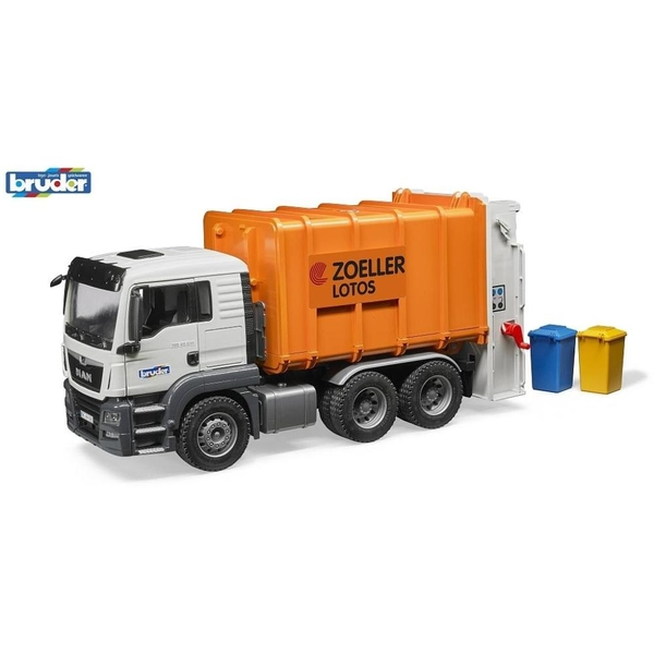 Bruder - MAN TGS Müll-LKW Hecklader
