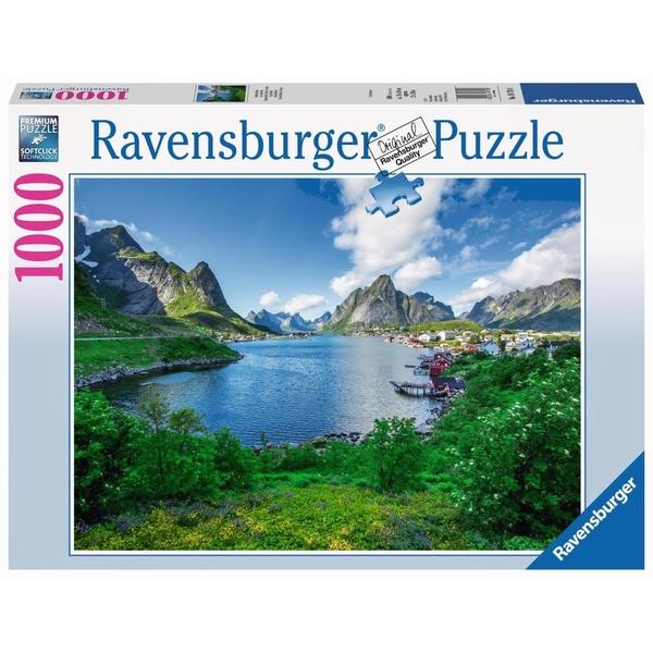 Puzzles 1.000 Teile Puzzle Spiel Deutsch 2017 Blick auf den Comer See