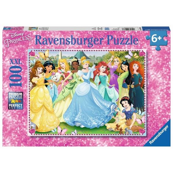 Ravensburger - XXL Puzzle: Zauberhafte Prinzessinnen, 100 Teile