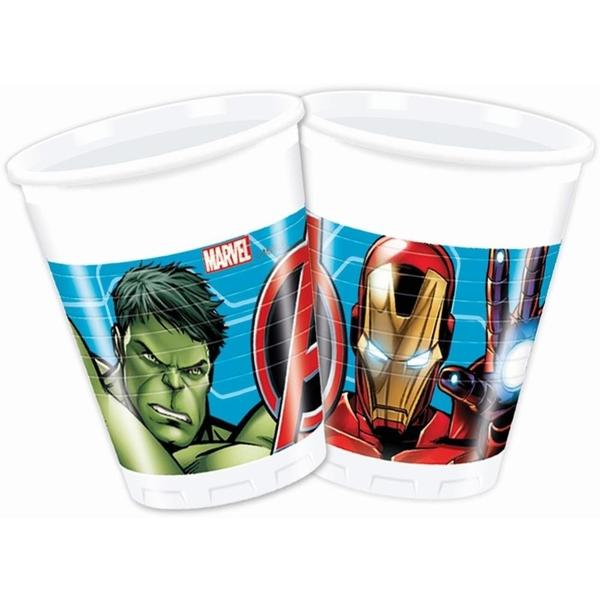 The Avengers - Mighty: 8 Plastikbecher