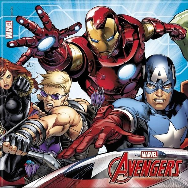 The Avengers - Mighty: 20 Servietten