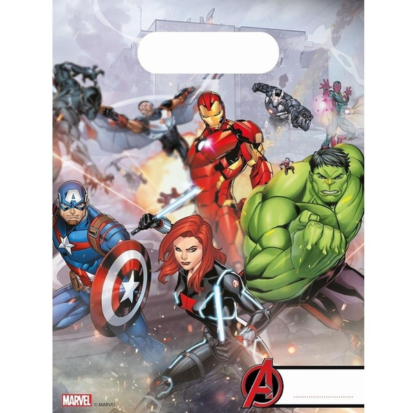 The Avengers - Mighty: 6 Partytüten