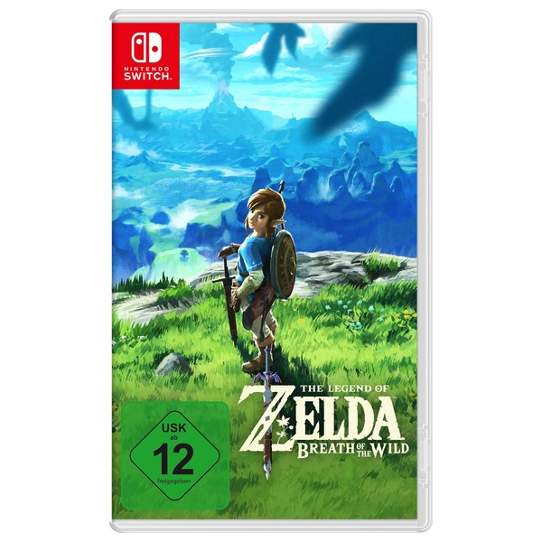 Nintendo - Switch: The Legend of Zelda: Breath of the Wild