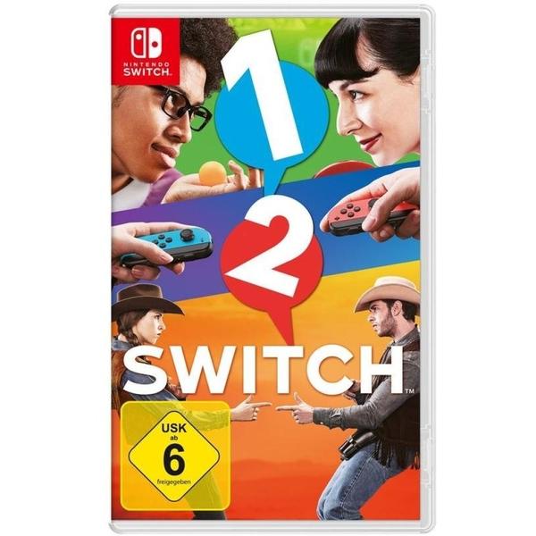 Nintendo - Switch: 1-2-Switch