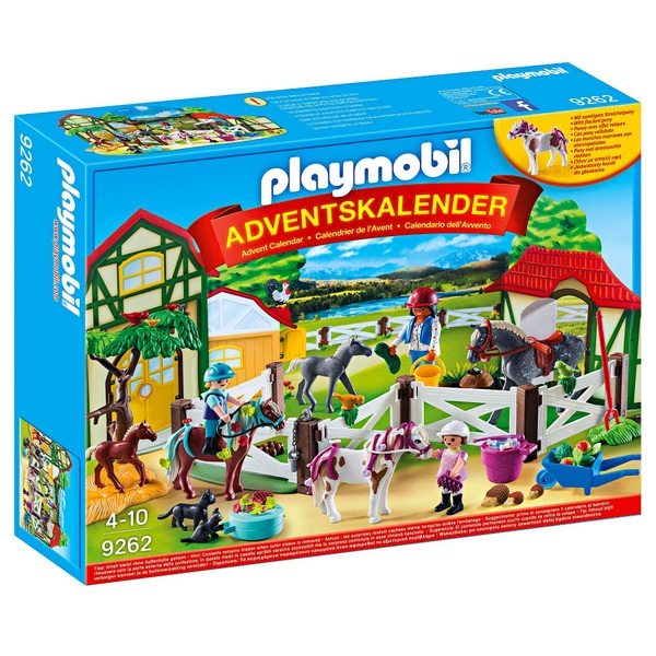Playmobil Weihnachten.Playmobil 9262 Adventskalender Reiterhof Playmobil Weihnachten Deutschland
