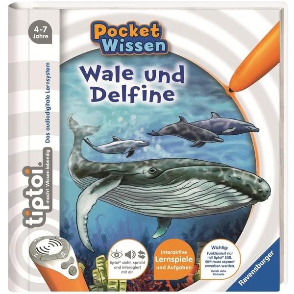 Ravensburger - tiptoi Buch: Pocket Wissen, Wale und Delfine