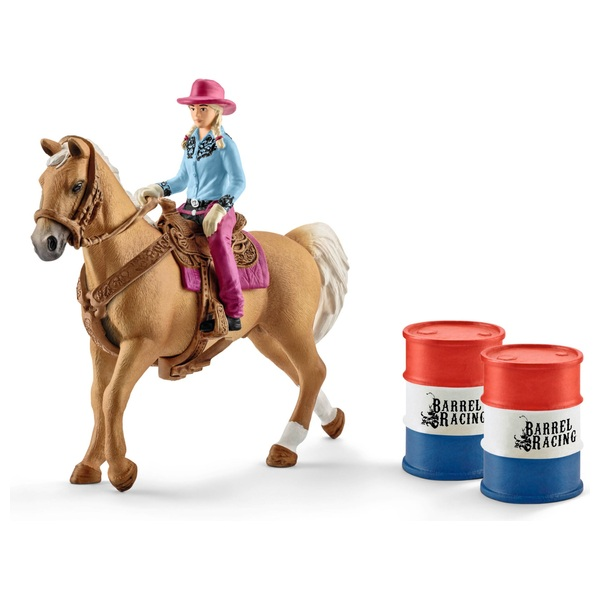 Schleich - 41417 Barrel racing mit Cowgirl
