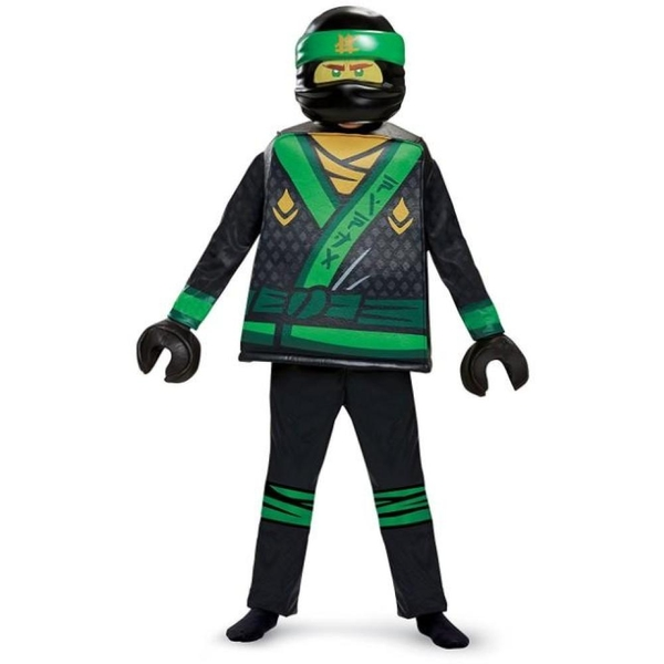 LEGO Ninjago - Kinderkostüm, M.Lloyd Deluxe Kostüm (Gr. S) - Kostüme ...