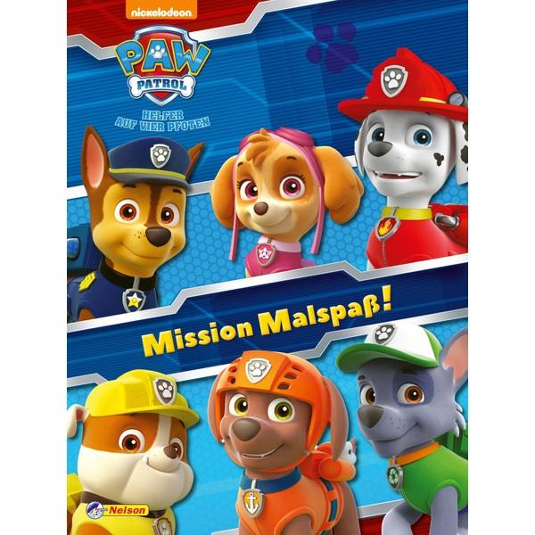 Paw Patrol - Mission Malspaß