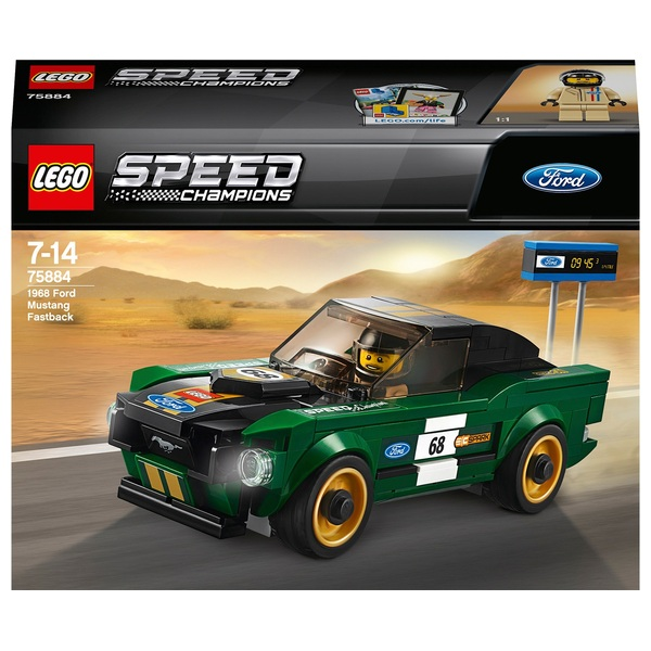 Lego Speed Champions 75884 1968 Ford Mustang Fastback Lego Speed