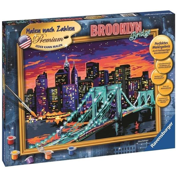 Ravensburger Malen Nach Zahlen Premium Brooklyn Bridge Malen Nach Zahlen Deutschland
