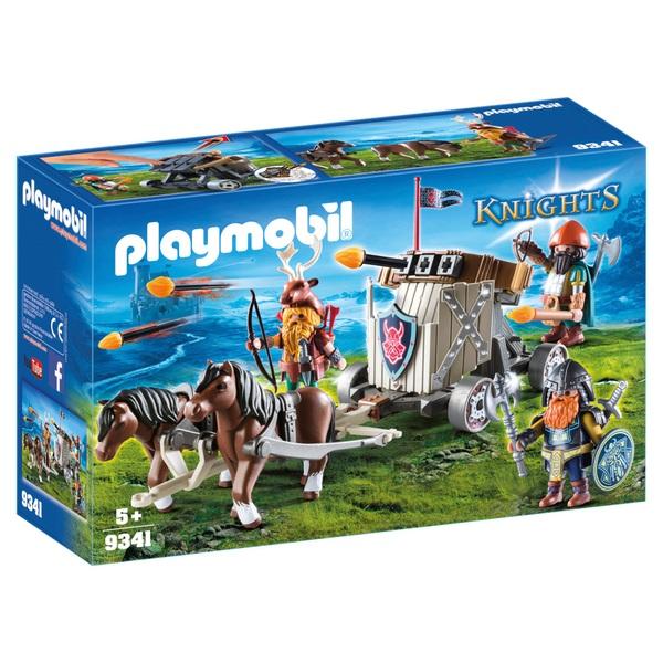 PLAYMOBIL - 9341 Ponygespann mit Zwergenballiste