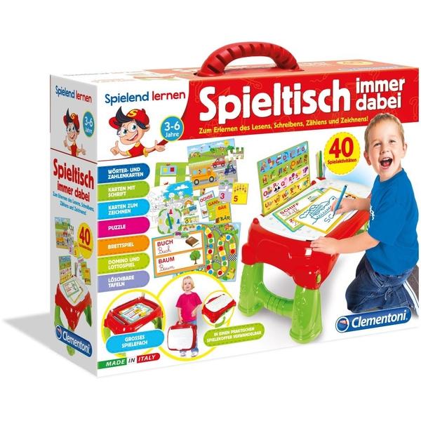 Clementoni Spieltisch Immer dabei | Smyths Toys Superstores