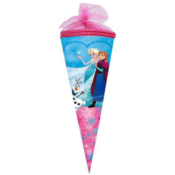 Schultüte - Disney Die Eiskönigin, ca. 35 cm, Tüll