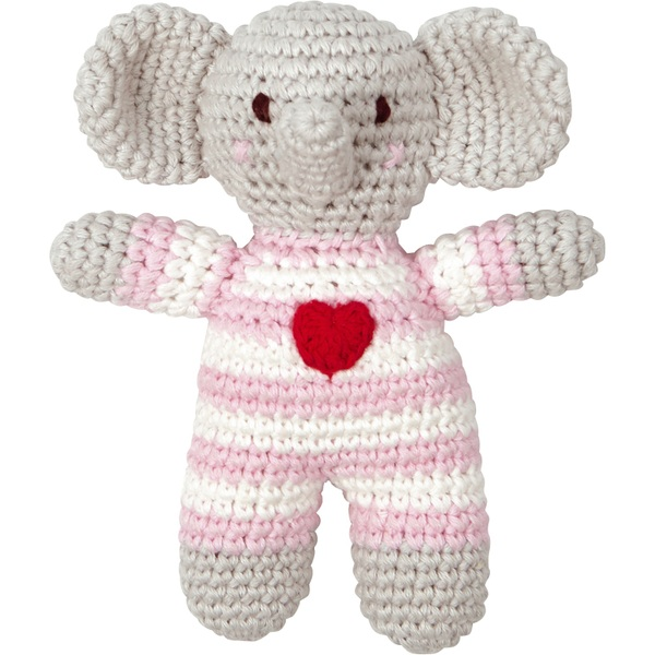 Coppenrath Verlag - Häkel Rassel BabyGlück Elefant, rosa