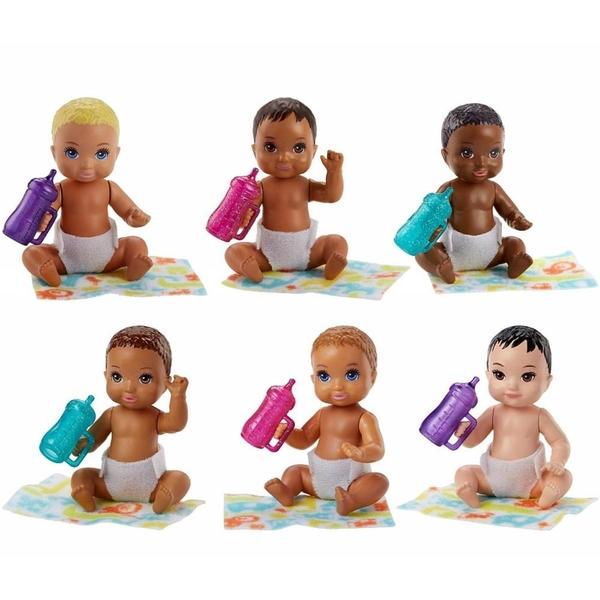 Barbie - Babysitters Inc Baby-Puppe und Zubehör, sortiert