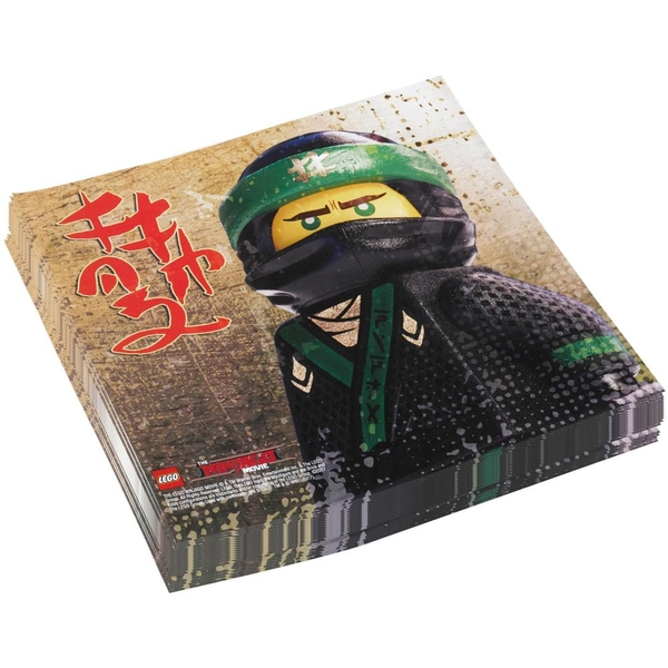 LEGO Ninjago - 20 Servietten
