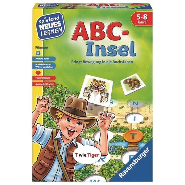 Ravensburger - Spielend Neues lernen: ABC-Insel