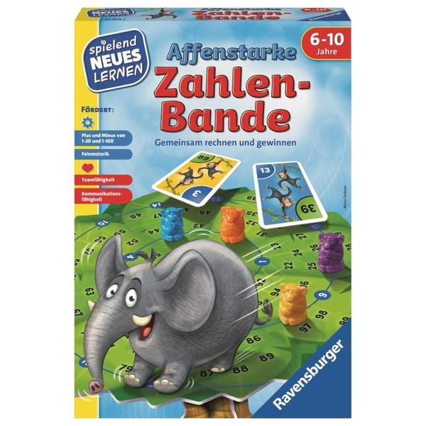Ravensburger - Spielend Neues lernen: Affenstarke Zahlen-Bande