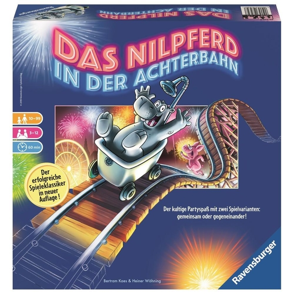 Ravensburger - Das Nilpferd in der Achterbahn