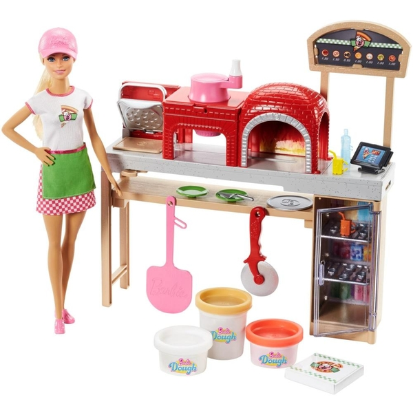 Barbie - Spielset Pizzabäckerin