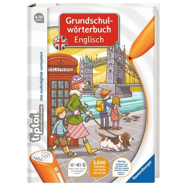 Ravensburger - tiptoi Buch: Grundschulwörterbuch Englisch