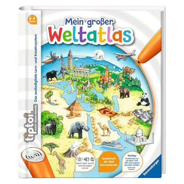 Ravensburger - tiptoi Buch: Mein großer Weltatlas
