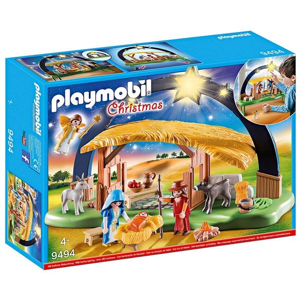 Playmobil Weihnachten.Playmobil 9494 Lichterbogen Weihnachtskrippe Playmobil Weihnachten Osterreich
