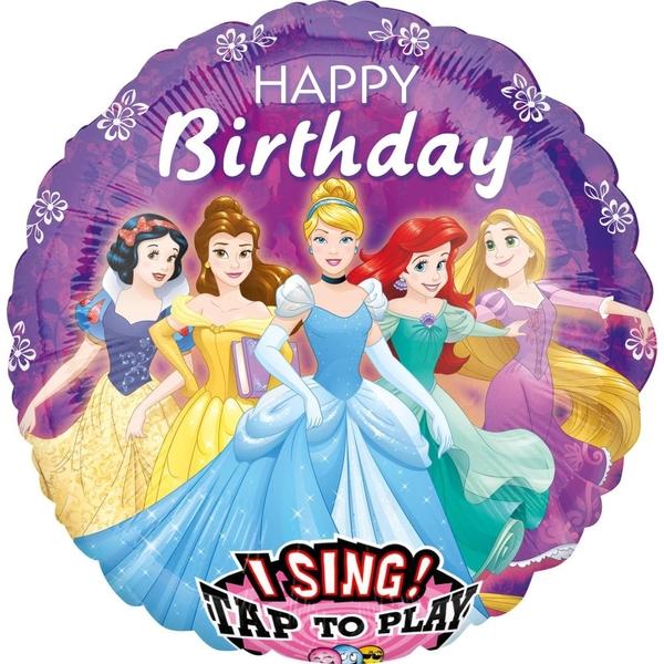 Disney Prinzessin - Folienballon Sing-A-Tune