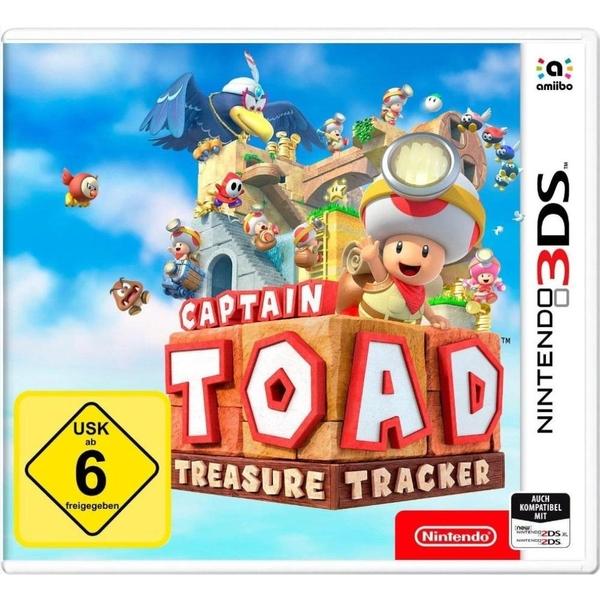 Nintendo - 3DS: Captain Toad Treasure Tracker
