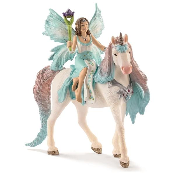 Schleich - 70569 Eyela mit Prinzessinnen-Einhorn