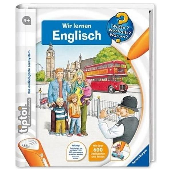 Ravensburger Tiptoi Buch Wieso Weshalb Warum Englisch