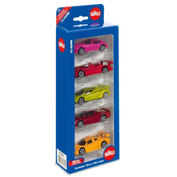 SIKU Super - 6281: 5er Geschenkset Fahrzeuge
