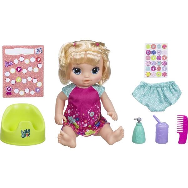 Baby Alive - Töpfchentanz, blond